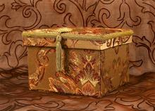 Pudełko dekoracyjne (złoto) 18cm