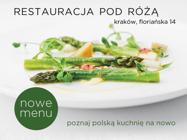 Nowoczesna kuchnia polska w wyjątkowym wydaniu.