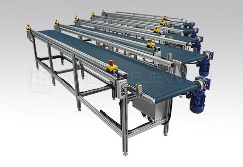 stoły montażowe - ANDRZEJEWSKI - linie prod... zdjęcie 8