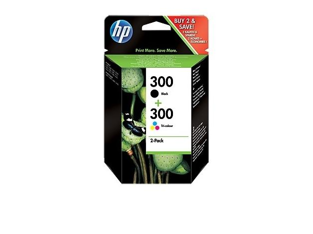 HP Combo Pack Tusz 300