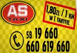 AS TAXI. Taxi osobowe