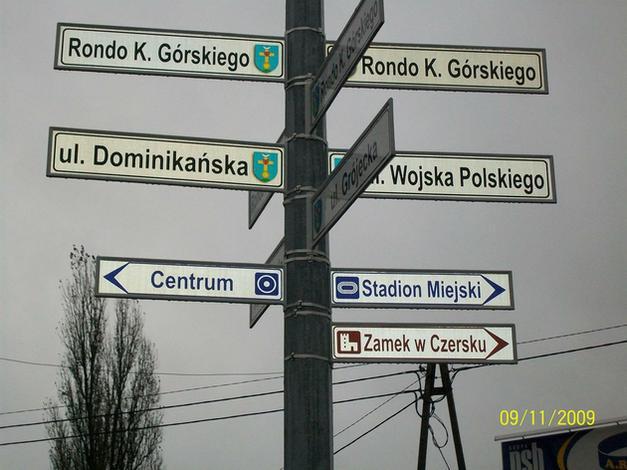 znaki geodezyjne - PZM Wimet Józefów. Znaki ... zdjęcie 8