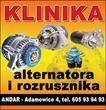 PUH Andar. Sprzedaż i naprawa rozruszników i alternatorów