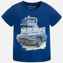 Koszulka dla chłopca z nadrukiem samochodu