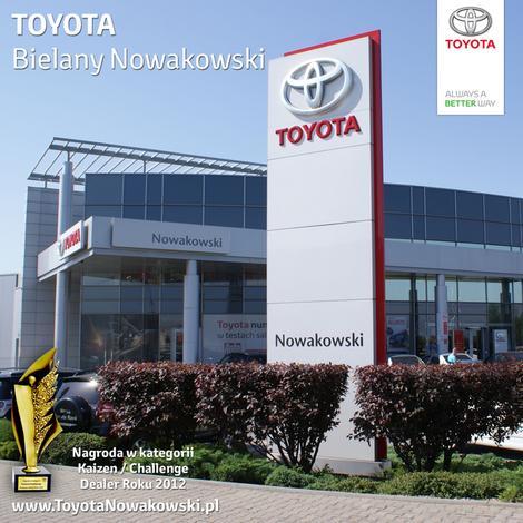 salon toyota - Toyota Bielany Nowakowski zdjęcie 1