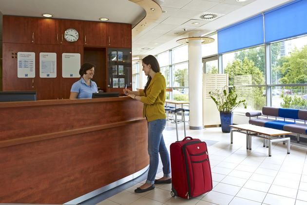 nocleg - Hotel Ibis Budget Warszaw... zdjęcie 3