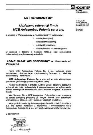 pomiar przecieku filtrów hepa - YIT Poland - Biuro serwis... zdjęcie 9