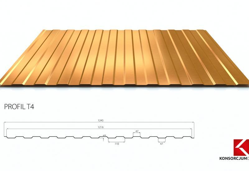 blachy trapezowe - Konsorcjum Dachowe Sp. z ... zdjęcie 3