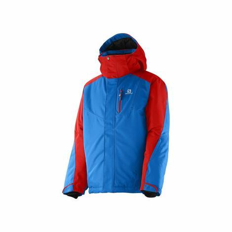 """Ciepła, techniczna kurtka o sportowym, inspirowanym stylem """"race"""" wyglądzie. Wyróżnia się detalami wykończenia w mocnych kolorach"""