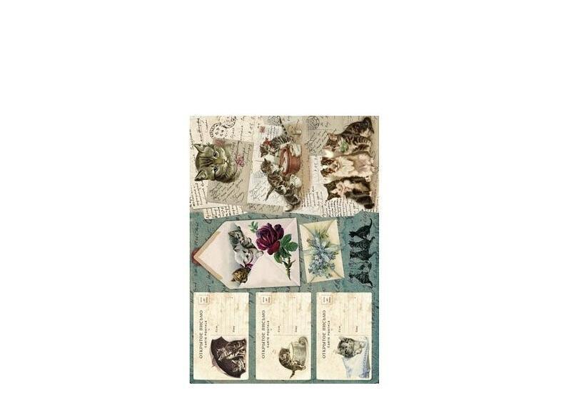 decoupage, filcowanie, cardmaking