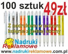 Długopisy z Twoim logo.