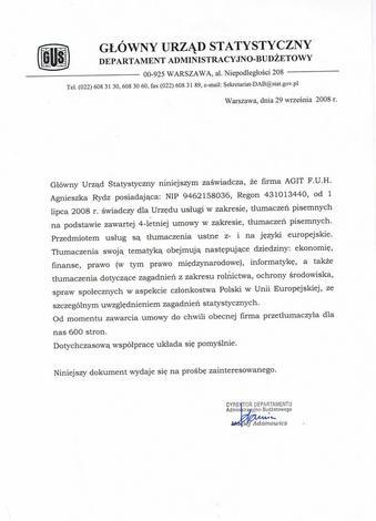 tłumacz przysięgły - Agit Biuro Tłumaczeń - Tł... zdjęcie 3