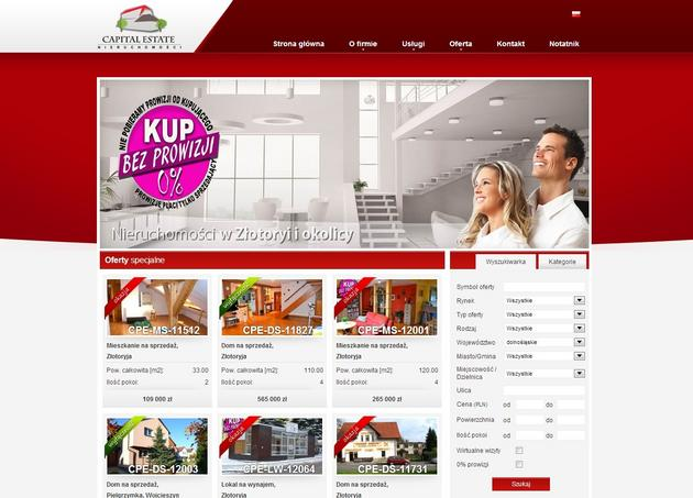 mieszkania na sprzedaż - Biuro Nieruchomości Capit... zdjęcie 1