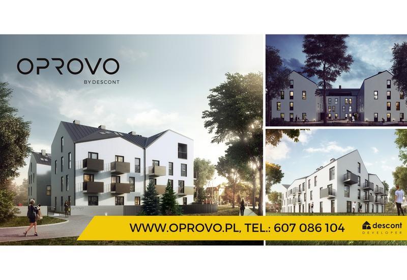 mieszkania Wrocław - OPROVO - nowoczesna inwes... zdjęcie 1