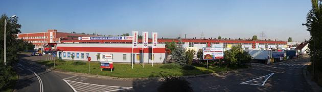 wynajem powierzchni handlowych katowice - Śląski Rynek Hurtowy Obro... zdjęcie 1