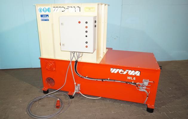 - wlot leja załadowczego 100x80cm - wylot na rozdrobnione drewno fi 20cmx2 - elektryczny autorewers