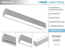 SIGMA II LED – oprawa systemowa