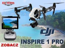 DJI Inspire 1 PRO RAW (z 2 nadajnikami) HIT CENOWY
