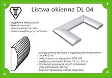 Listwy okienne symetryczne  DLS