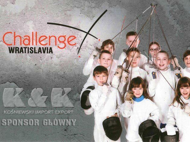 """K&K jest Głównym Sponsorem Międzynarodowego Turnieju Szermierczego Dzieci """"Challenge Wratislavia""""."""