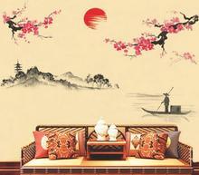 Naklejki na ścianę Kwiat Wiśni