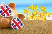 ZAPISY I PROMOCJE!  40% ZNIŻKI na Kursy Letnie!!!