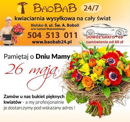 palma pogrzebowa bielsko-biala - BAOBAB kwiaciarnia wysyłk... zdjęcie 1