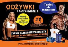 odżywki dla sportowców, akcesoria sportowe