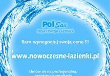panele prysznicowe - Polsan. Wyposażenie łazie... zdjęcie 1