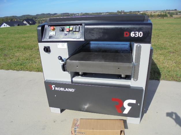 - maszyna nowa, na magazynie - szerokość wału 63cm - wał 4-nożowy - grubość obrabianego elementu 30cm