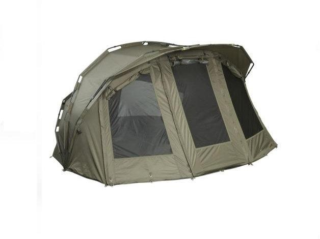 Duży, dwuosobowy namiot JRC z najlepszych materiałów. Gwarantuje lata użytkowania oraz komfort.