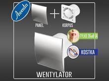 Wentylator - Escudo Inox – fi100 - System+