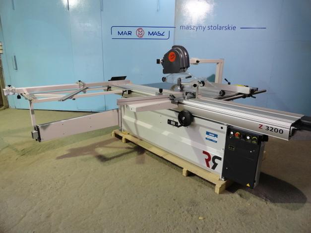 - maszyna nowa, na magazynie - długość wózka 3200mm - max. średnica tarczy 400mm - silnik gł. 5,5kW