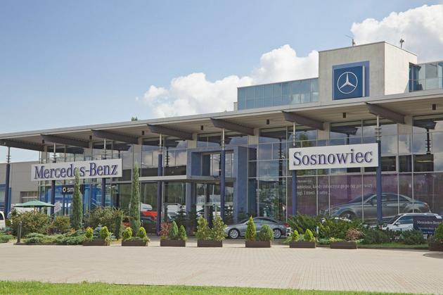 kredyt - Mercedes-Benz Sosnowiec S... zdjęcie 1