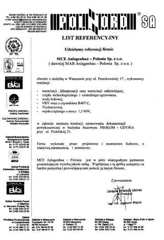 badania instalacji hvac - YIT Poland - Biuro serwis... zdjęcie 15