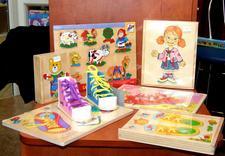 Książki dla dzieci, zabawki edukacyjne