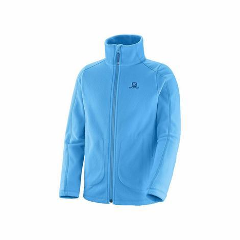 Ciepła polarowa kurtka. Idealna jako druga warstwa odzieży, noszona pod kurtką narciarską.