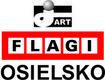 J - Art Janusz Wlekliński. Flagi firmowe, produkcja flag, proporczyków - Osielsko, Centralna 12B