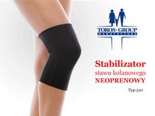 Stabilizator stawu kolanowego neoprenowy