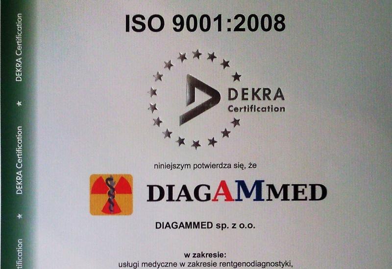 badanie - DIAGAMMED Pracownia rentg... zdjęcie 1