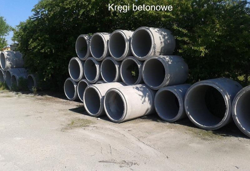 fundamentowe - RUR-BET - rury, kręgi, pr... zdjęcie 2
