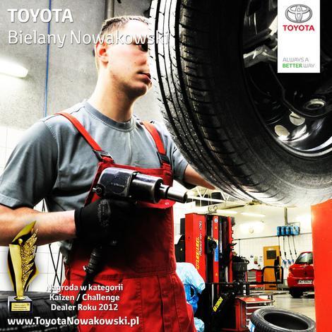 salony samochodowe - Toyota Bielany Nowakowski zdjęcie 2