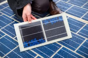 Launch of the first world's solar road in France