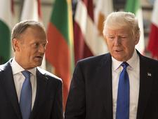 Po spotkaniu Tusk-Trump: UE i USA bez zgody co do klimatu i handlu
