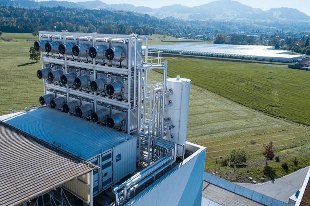 Instalacja do wychwytywania CO2 z powietrza