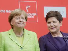 Szydło w Hanowerze zachęcała niemieckie firmy do współpracy z Polską