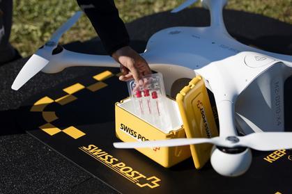 Drony w służbie medycyny - transportują krew