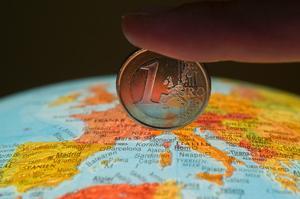 globus eurocent moneta