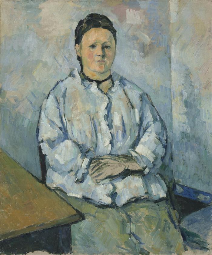 Paul Ceanne - Siedząca Kobieta
