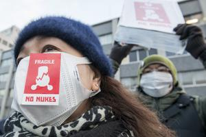 Anti-Nuclear Protests In Tokyo